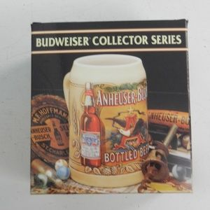Budwiser Collector Series Mug 1991 Org Box hg